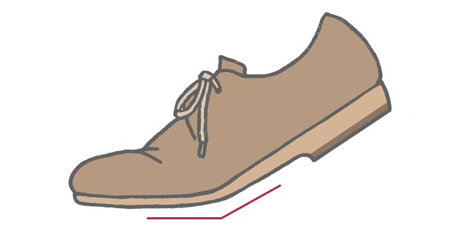 足の付け根部分