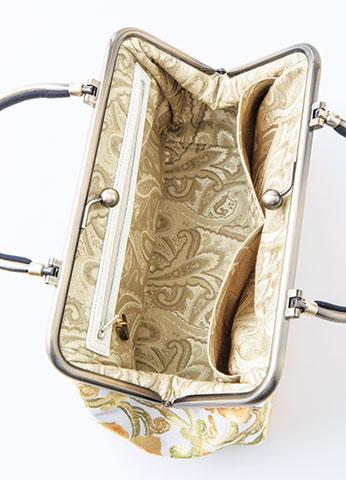 きものリメイク 帯で作ったハンドバッグ