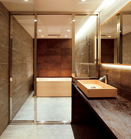 ついつい長風呂になってしまう 極楽バスルーム情報 Bathtub