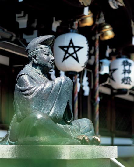 晴明公の銅像
