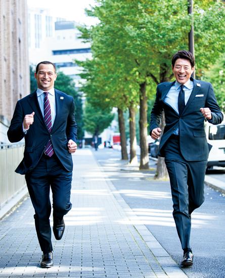 松岡さんと室伏さん