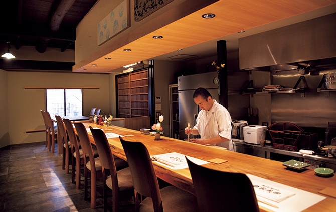 日本料理と日本酒 惠史