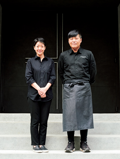 オーナーの苅谷和彦さん・和美さん夫妻