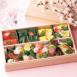東京発、春の息吹溢れる雅なお花見弁当