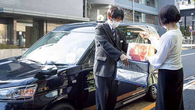 美味配達人タクシーデリバリーをご存じですか?