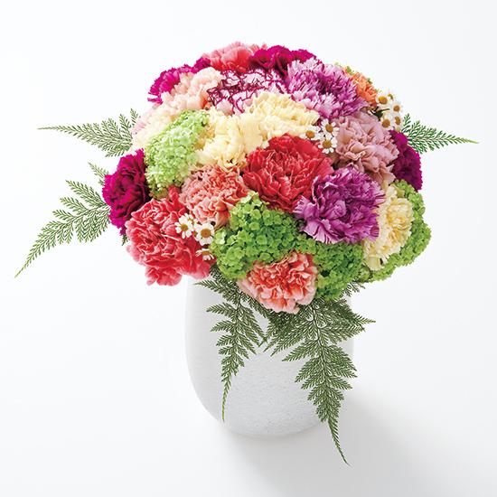 表紙を題材にした絵になる花々をたっぷりのボリュームでお届けいたします
