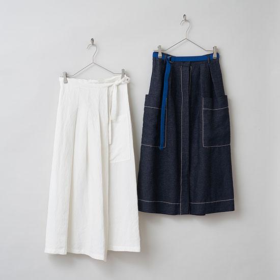 スカート選びのコツは 「素材感」と「丈」の2つ