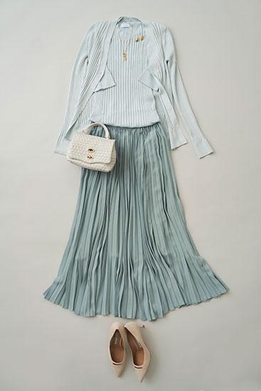 ファッション迷い世代の服選び 女性らしさを楽しむ「揺れるスカート」