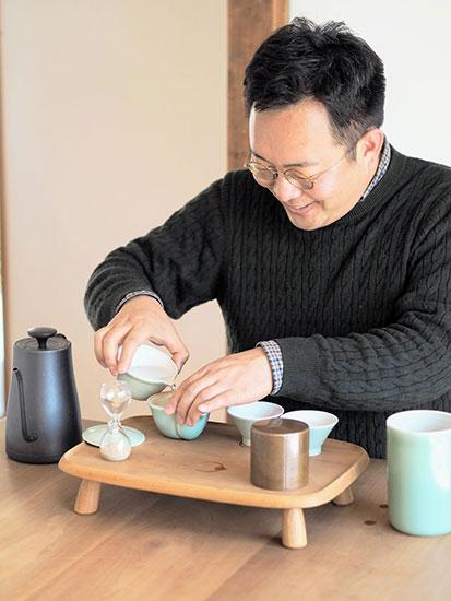 朝日焼 shop & gallery(あさひやき ショップアンドギャラリー)松林俊幸さん