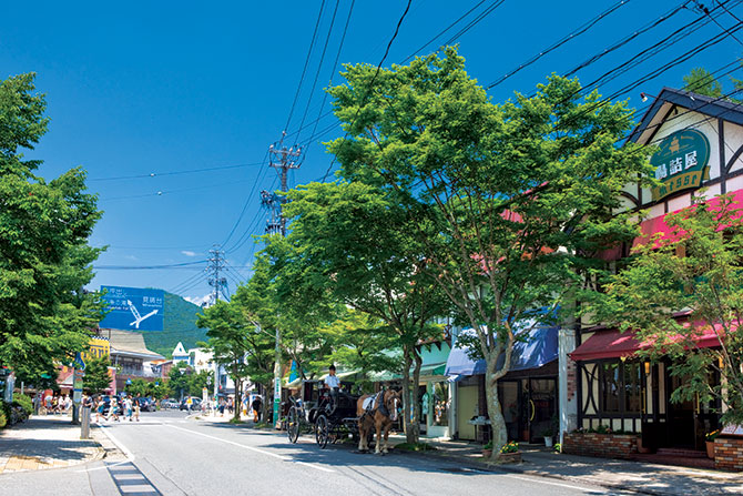 【個人旅行 軽井沢7日間】軽井沢に涼を求めて
