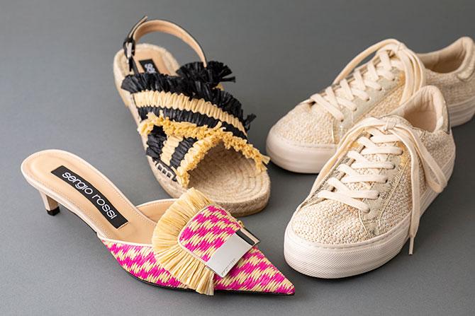 セルジオ ロッシのサンダルとノーネームのと靴靴
