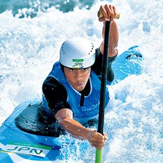 羽根田卓也(カヌー・スラローム)水の呼吸を読み、水を味方につけてさらなる高みへ