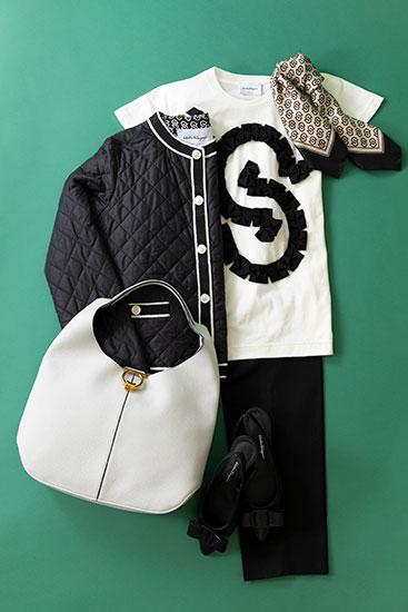 サルヴァトーレ フェラガモ服とバッグ