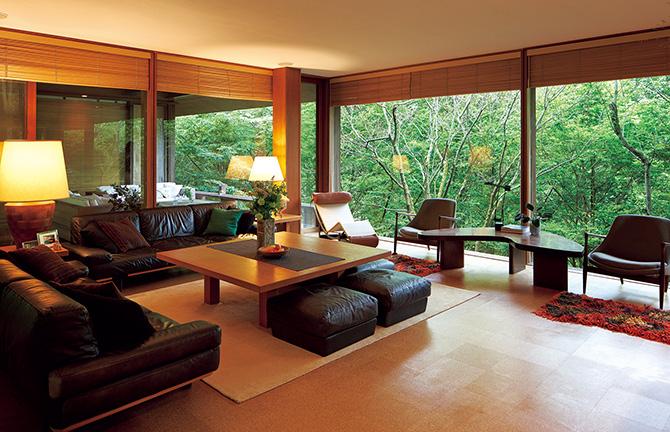 別荘設計の原点 森に浮かぶ自ツリーハウス邸別荘