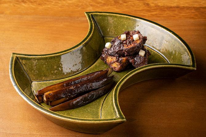 なすのきじ焼き、生姜味噌炒め