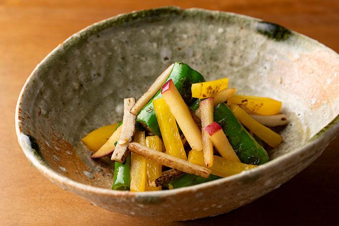 きんぴらのイメージが覆る! 旬の野菜の味を楽しむお惣菜レシピ。