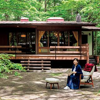 林 真理子さんの軽井沢別荘