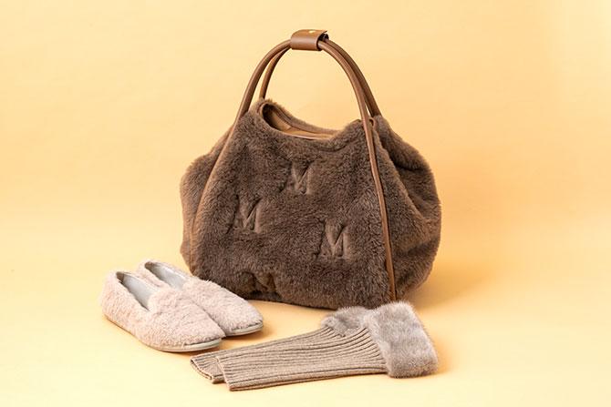 マックスマーラのバッグと靴と手袋