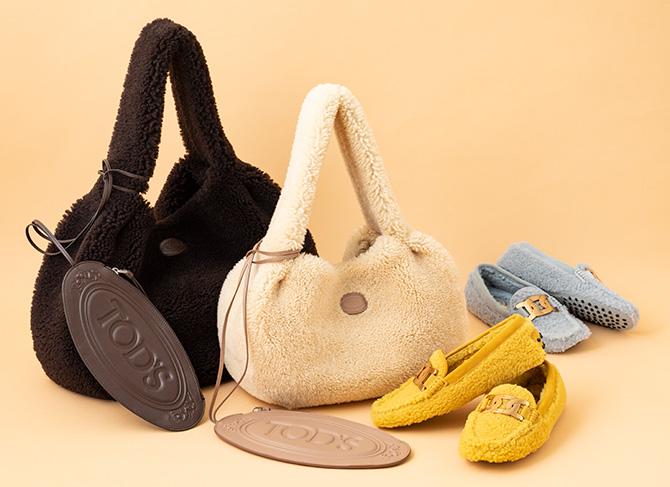 トッズの靴、バッグ