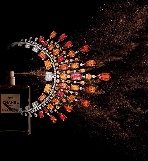 香りとハイジュエリーの融合 N゜5の魂に導かれて