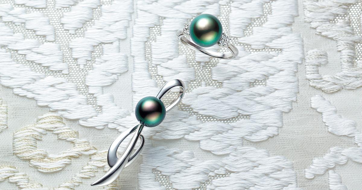 和装にも洋装にも似合う「清美堂真珠」 黒蝶真珠の輝きをあなたへ