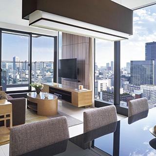 東京駅隣接のホテル&サービスアパートメント