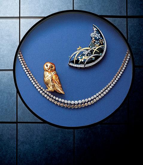 秋 金工細工と宝石が織り成す 幽玄の美の世界