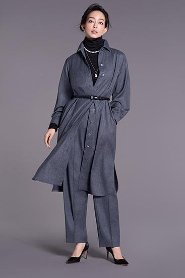 松島花さんが着るボグナー
