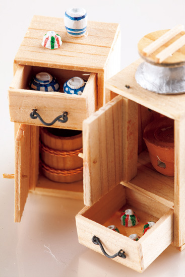 名工・服部一郎さんの江戸豆玩具